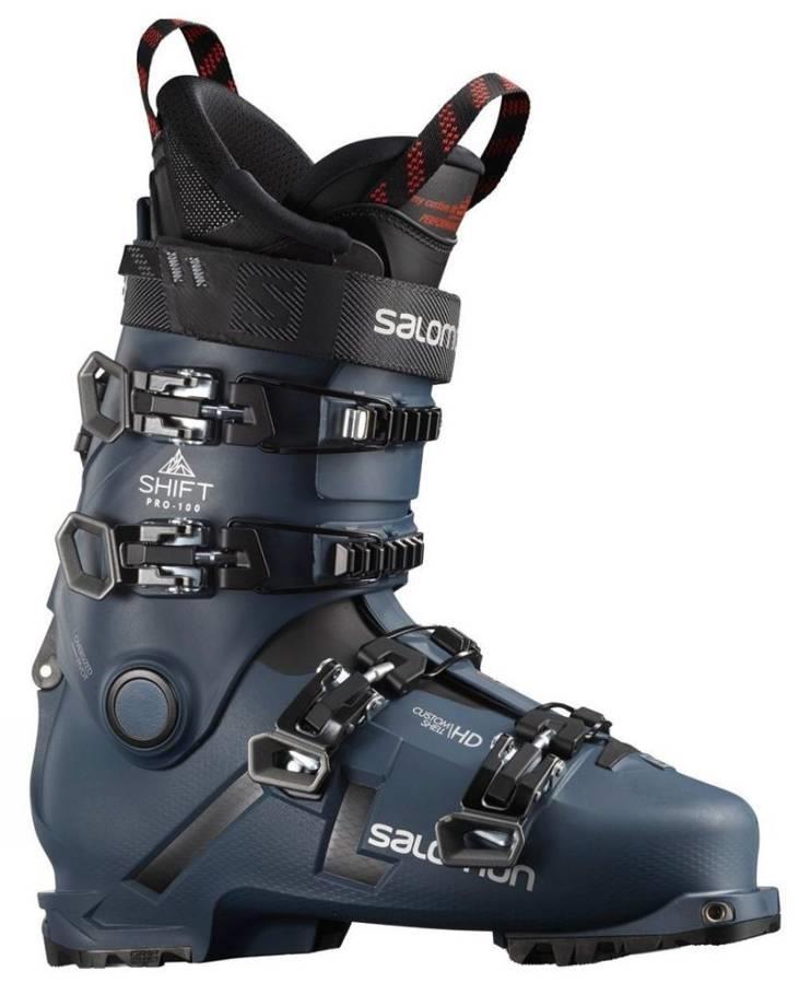 Salomon Shift Pro 100 AT B Grade Ski Boots, 28/28.5 Petrol Blue/Black 2022