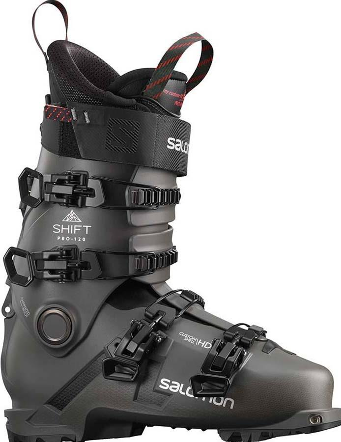 Salomon Shift Pro 120 AT Ski Boots, 29/29.5 Black/Belluga 2022