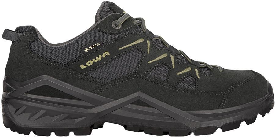 Lowa Sirkos Evo GTX Lo Men's Walking Shoes, UK 12 Anthracite