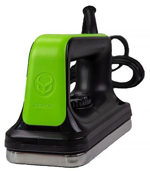 Demon Slide Wax Ski/Snowboard Service Iron, Black/Green