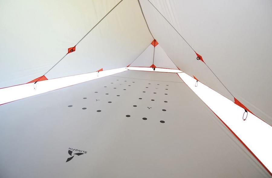 Slingfin SplitWing Floor Lightweight Tent Groundsheet, Grey