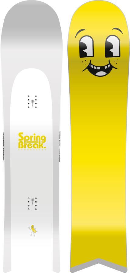 Capita Spring Break Slush Slasher Surf Rocker Snowboard, 147cm 2022