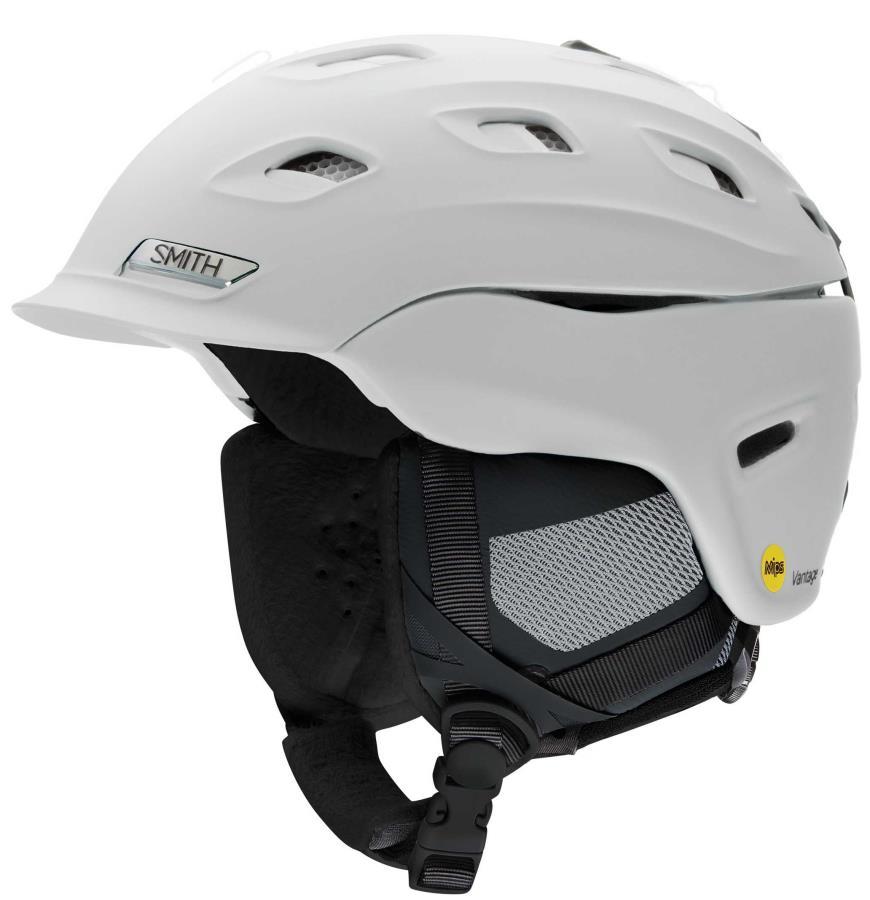 Smith Vantage MIPS Women's Snowboard/Ski Helmet S Matte White