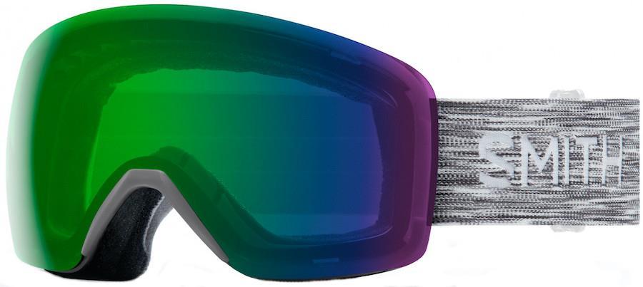 Smith Adult Unisex Skyline Cloud Grey, Cp Everyday Green Snowboard/Ski Goggles, M