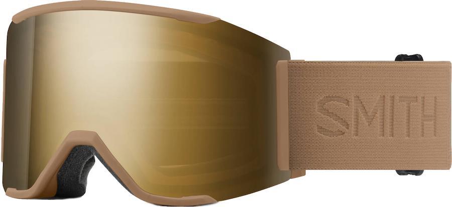 Smith Squad MAG CP Sun Blk.Gld Snowboard/Ski Goggles, M Safari Flood