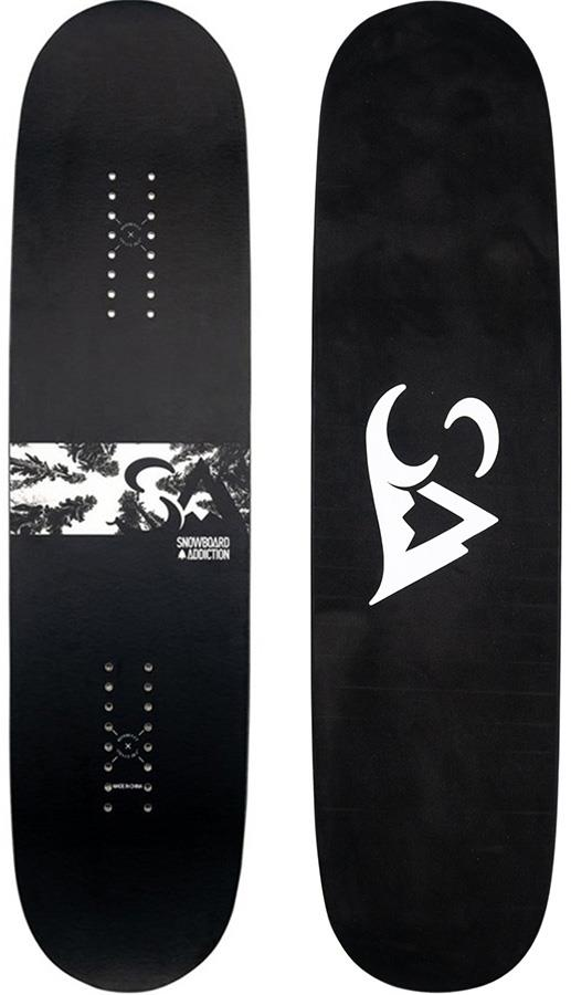 Snowboard Addiction Tramp Home-Training/Practice Snowboard, 99.5cm