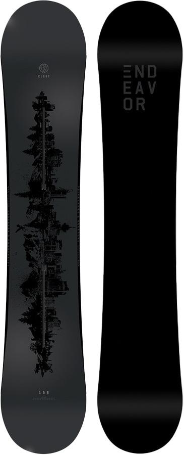 Endeavor Clout Hybrid Camber Snowboard, 162cm 2019