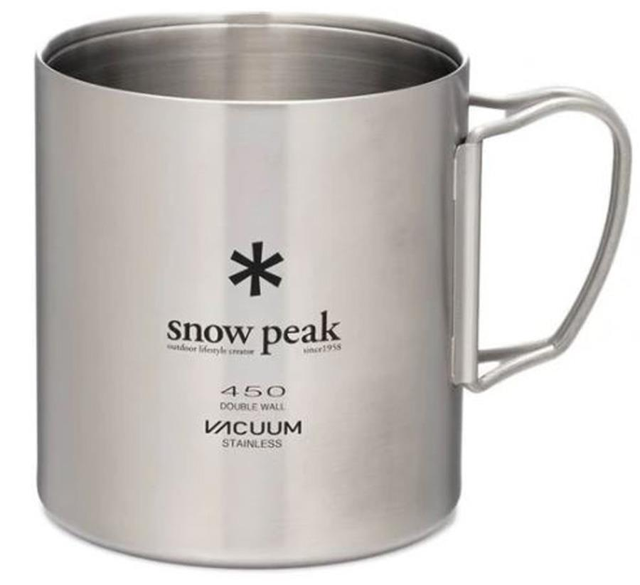 Snow Peak Stainless Vacuum Double Wall Mug Camp Cup, 450ml
