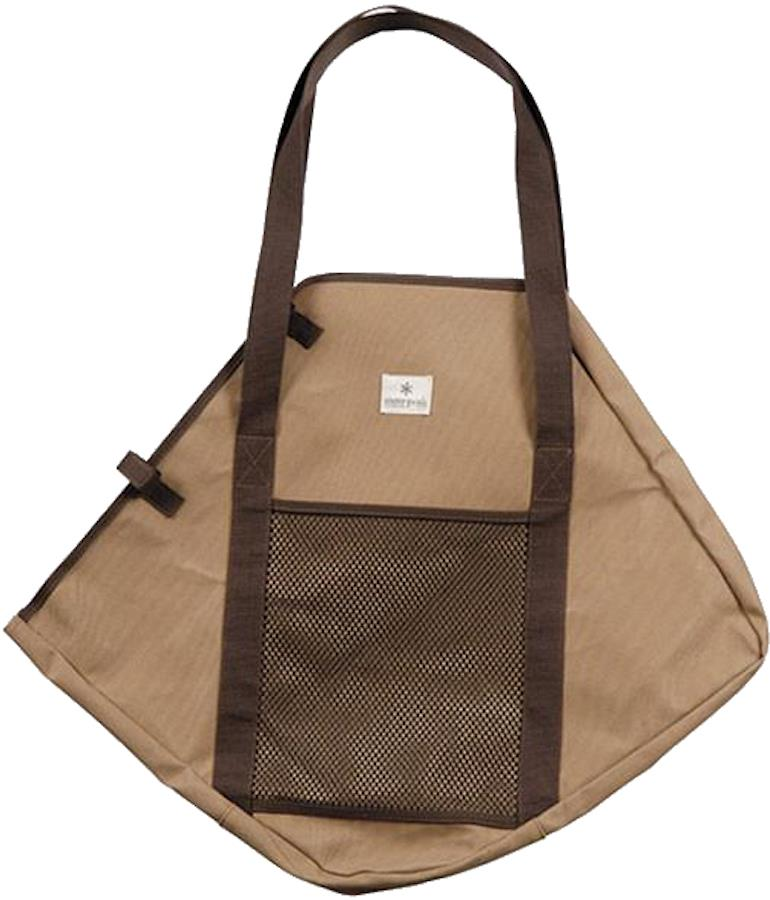 Snow Peak Fireplace Canvas Bag Protective Grill Carrier, Medium