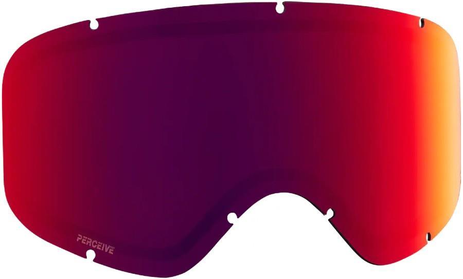 Anon Insight Ski/Snowboard Goggle Spare Lens, Perceive Sunny Red