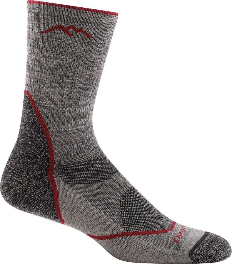 Darn Tough Adult Unisex Light Hiker Micro Crew Hiking Socks, L Taupe