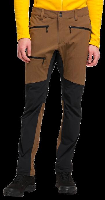 Haglofs Rugged Flex Pant Hiking Trousers, M Teak Brown/True Black