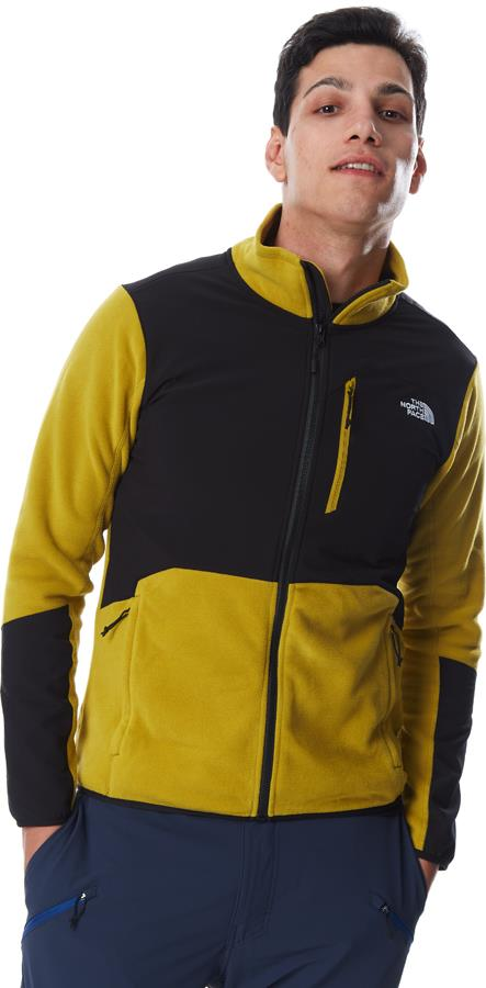 The North Face Adult Unisex Glacier Pro Full-Zip Fleece Jacket, S Matcha Green
