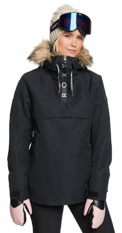 Roxy Shelter Women's Snowboard/Ski Jacket XS True Black