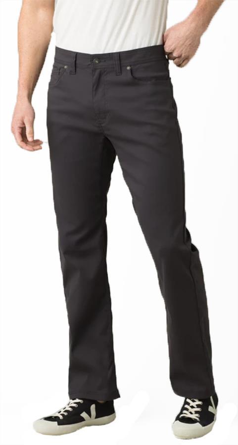 Prana Brion Regular Men's Rock Climbing Trousers, M Charcoal