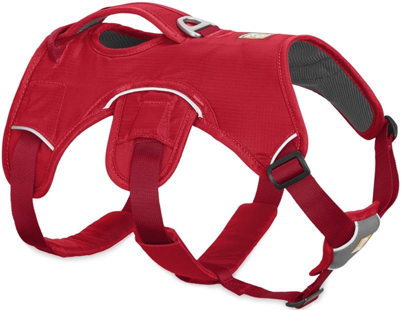 Ruffwear Web Master Active Dog Harness With Handle S Red Currant