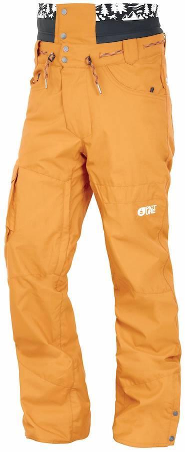 Picture Under Ski/Snowboard Pants, S Camel