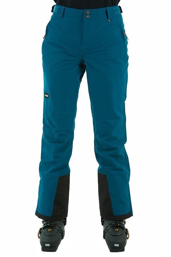 Planks Womens Overstoke Women's Snowboard/Ski Pants, L Ocean Blue