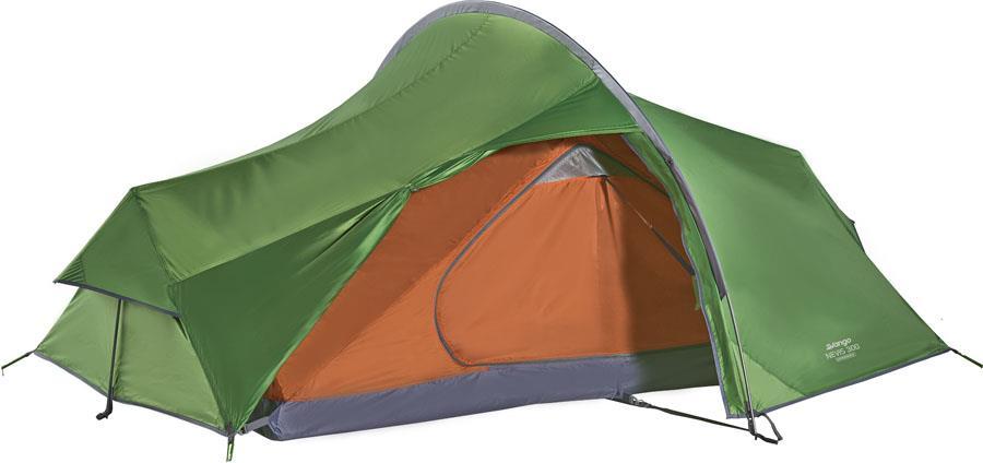 Vango Nevis 300 Lightweight Hiking Tent, 3 Man Pamir Green