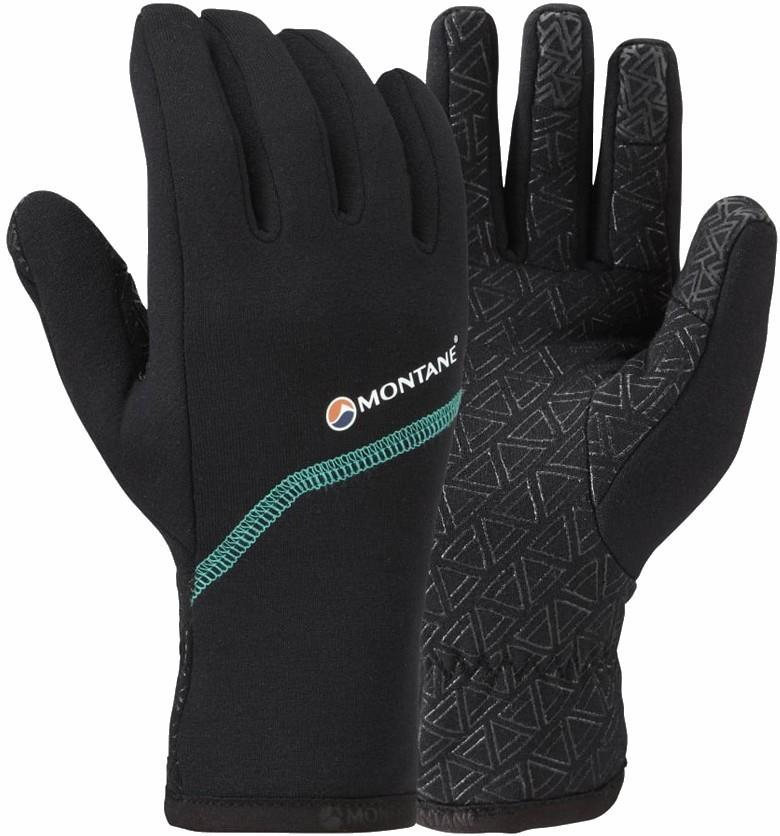 Montane Power Stretch Pro Grippy Mountaineering Glove, M Black