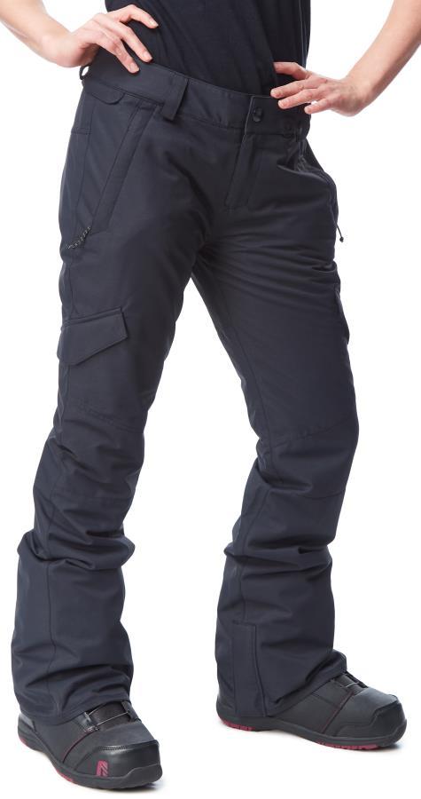Volcom Bridger Insulated Women's Snowboard/Ski Pants XS Black