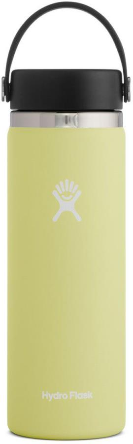 Hydro Flask 20oz Wide Mouth With Flex Cap 2.0 Water Bottle, Pineapple