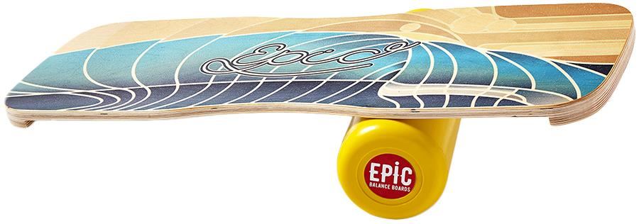 EPIC Balance Boards Nature Series Balance Board/Trainer, Waves