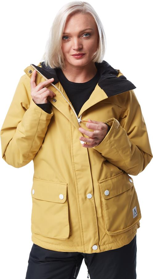 Wearcolour Womens Ida Women's Ski/Snowboard Jacket, S Sand