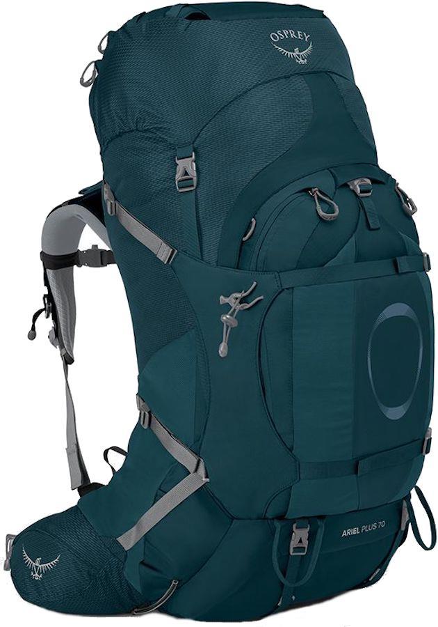 Osprey Ariel Plus 70 Women's XS/S Backpack, 68L Night Jungle