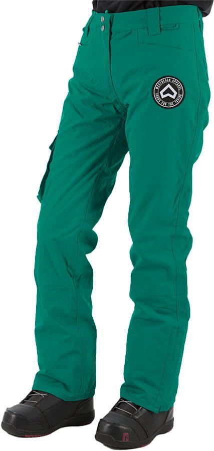 Westbeach Devotion Women's Ski/Snowboard Pants, S Green