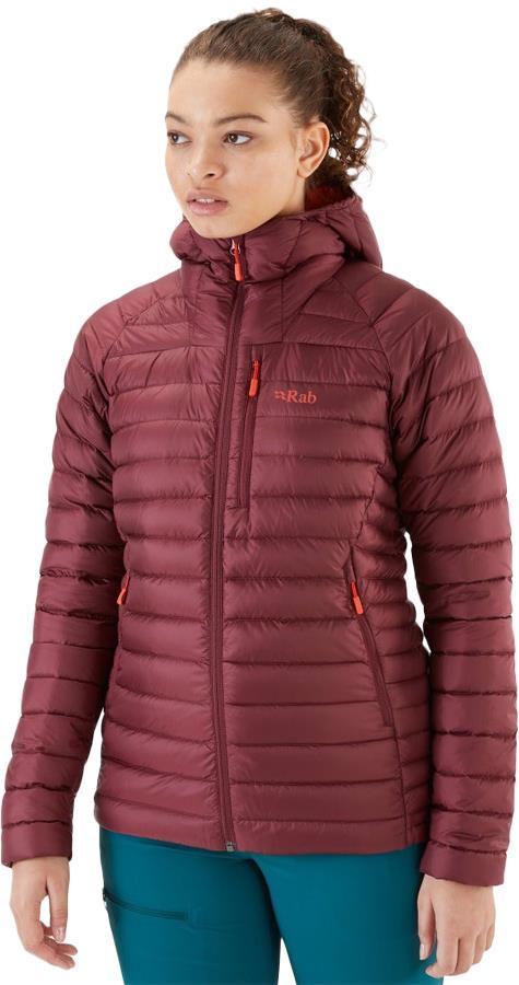 Rab Microlight Alpine Women's Insulated Jacket, UK 10 Deep Heather