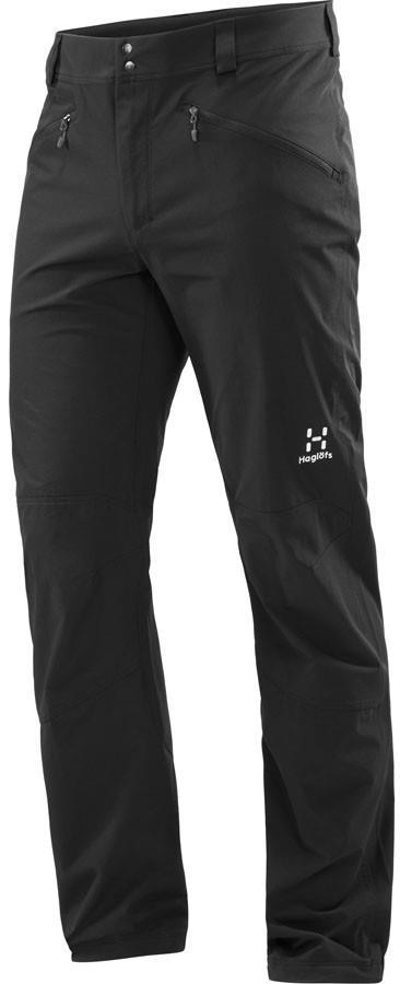 Haglofs Morän Flexible Hiking Trousers Pants, L True Black