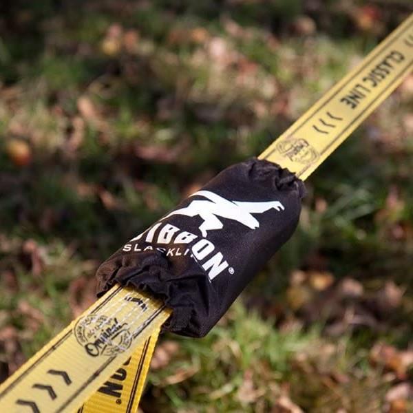 Gibbon Ratpad Slackline Protective Ratchet Cover, Black