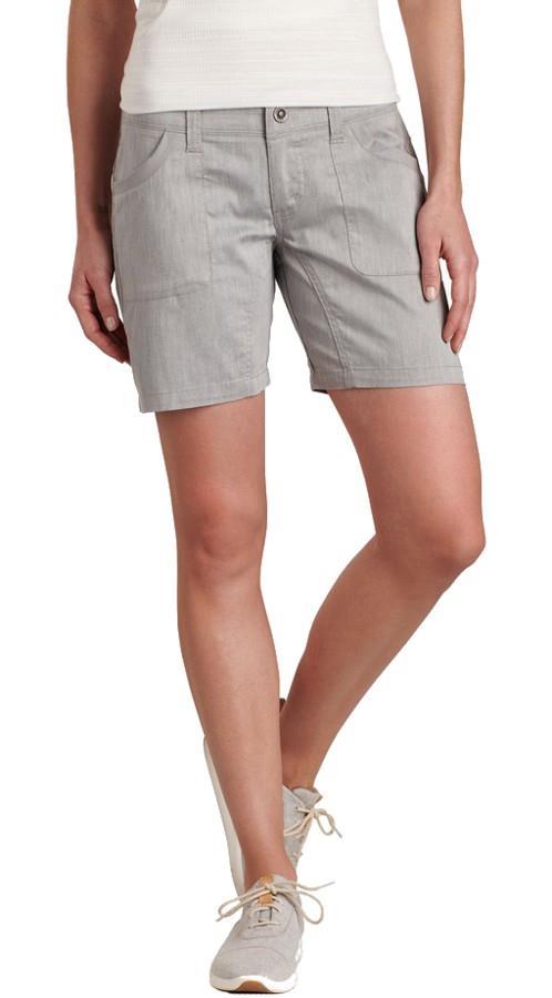 Kuhl Cabo Women's Hiking Shorts, UK 14 Ash