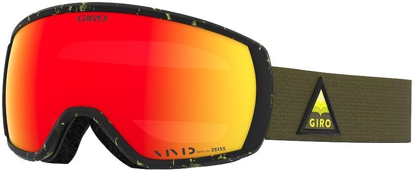 Giro Adult Unisex Balance Citron Arrow Mountain, Vivid Ember Ski/Snowboard Goggles, M