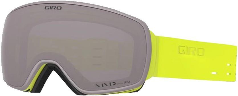 Giro Adult Unisex Agent Silicone Citron, Vivid Onyx Ski/Snowboard Goggles, L