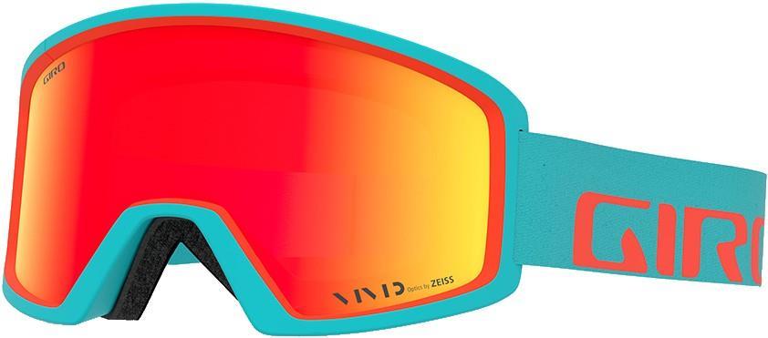 Giro Blok Vivid Ember Ski/Snowboard Goggles, L Apex Glacier Vermillion