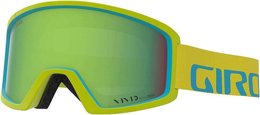 Giro Adult Unisex Blok Citron Iceberg Apex, Vivid Emerald Ski/Snowboard Goggles, L