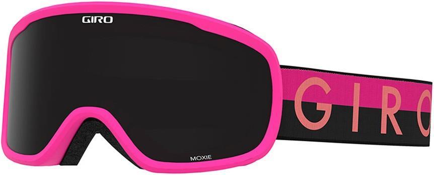 Giro Womens Moxie Black/Pink Throwback, Ultra Black Women's Ski/Snowboard Goggles, M