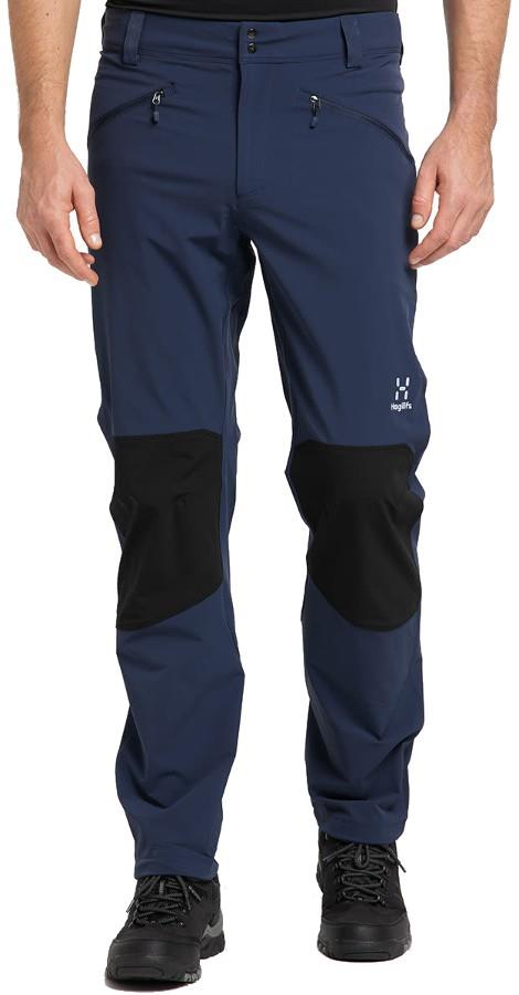 Haglofs Moran Pant Hiking Trousers, L Tarn Blue/Black
