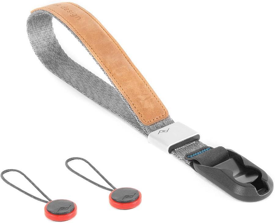 Peak Design Cuff Quick Connecting Camera Wrist Strap, Ash