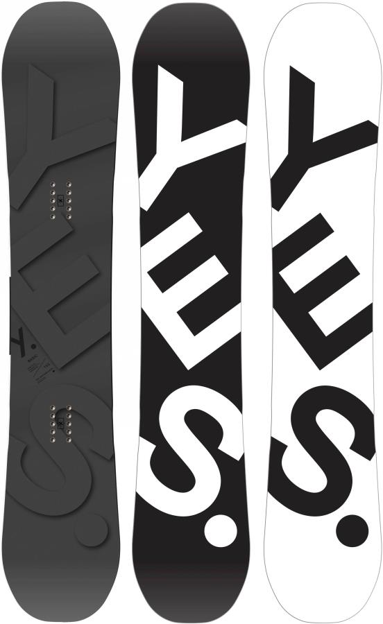 Yes. The Basic Hybrid Camber Snowboard, 161cm 2021