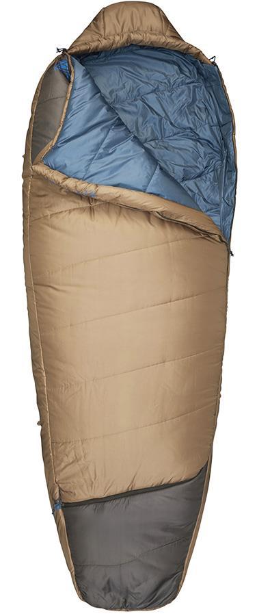 Kelty Tuck -7C 3-Season Sleeping Bag, Regular Otter LH Zip