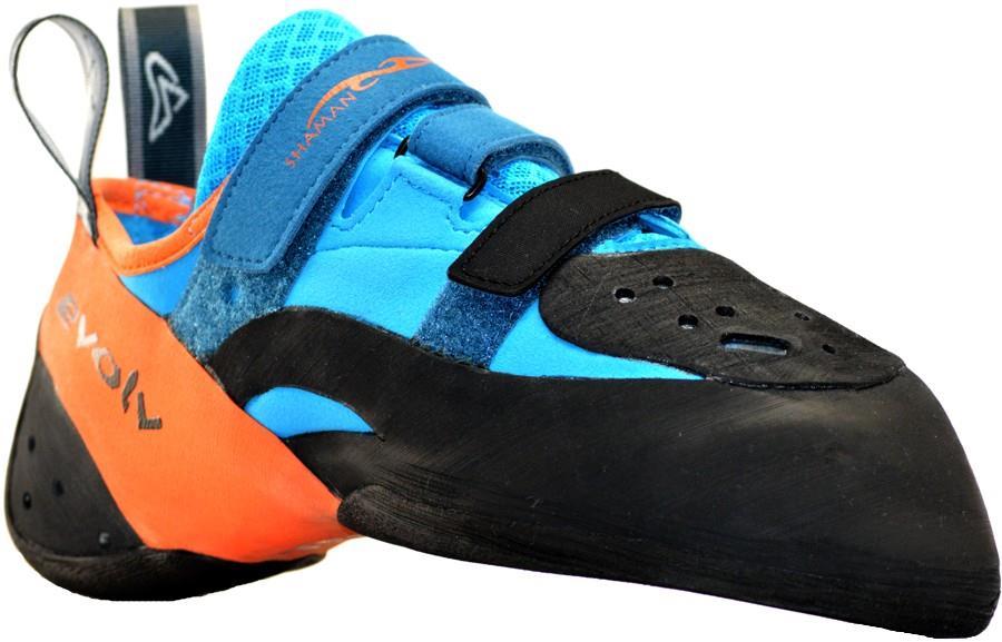 Evolv Shaman 2 Rock Climbing Shoe UK 6 | EU 39.5 Orange/Blue
