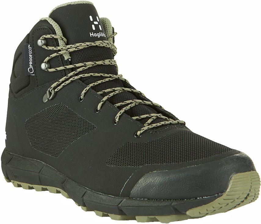 Haglofs Adult Unisex L.I.M Mid Proof Eco Mens Hiking Boots, Uk 7 True Black
