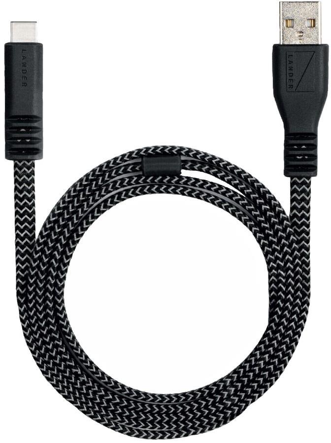 Lander Neve® USB-C Charging Cable, 1m Black