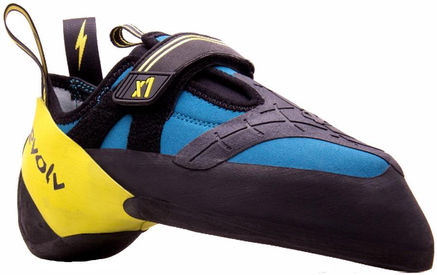 Evolv X1 Rock Climbing Shoe, UK 6.5 | EU 40 Seafoam/Neon Yellow
