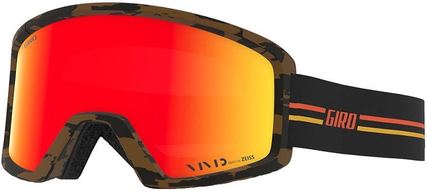 Giro Adult Unisex Blok Gp Black/Orange, Vivid Ember Ski/Snowboard Goggles, L
