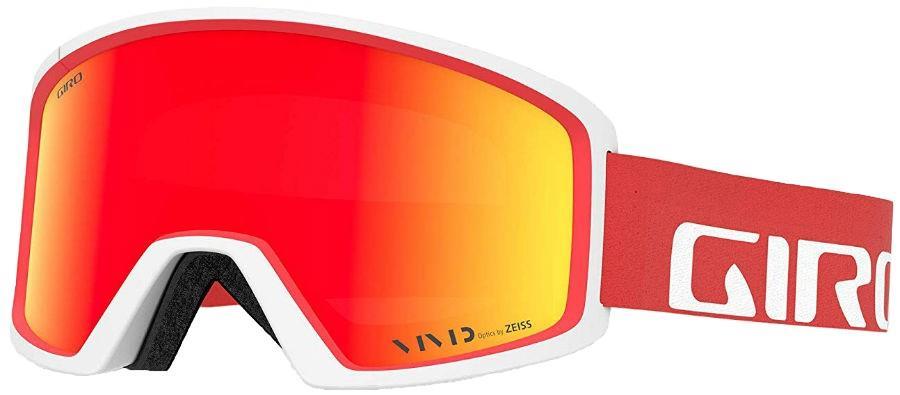 Giro Adult Unisex Blok Apex Red, Vivid Ember Ski/Snowboard Goggles, L