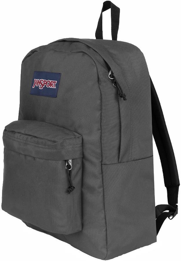JanSport SuperBreak One Day Pack/Everyday Backpack, 26L Deep Grey